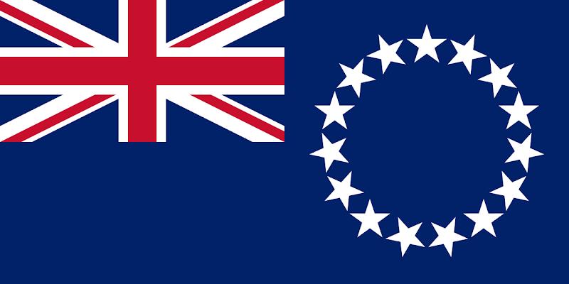 Logo Gambar Bendera Negara Kepulauan Cook PNG JPG ukuran 800 px