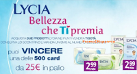 Logo Lycia bellezza che ti premia con shopping card Tigotà da 25€