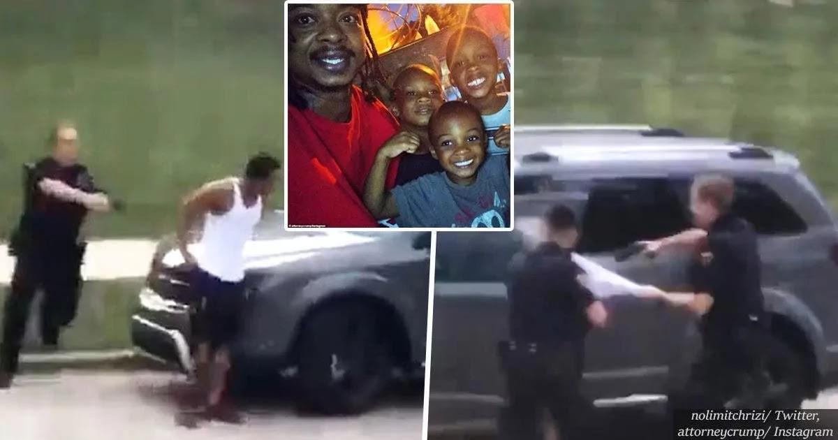 Unarmed Black Man Shot 7 Times In The Back By Police In Kenosha, Wisconsin