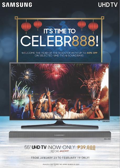 Samsung Celebr888 2017 CNY Samsung TV Promo