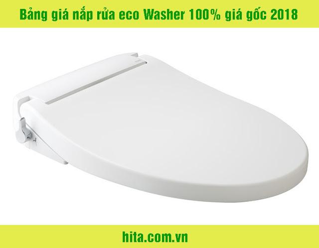 Bảng giá nắp rửa eco Washer 100% giá gốc 2018
