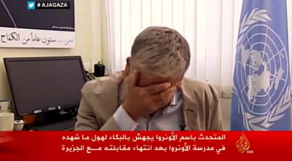 Δεν άντεξε ο εκπρόσωπος της ανθρωπιστικής βοήθειας του ΟΗΕ στη Γάζα κατά τη  διάρκεια συνέντευξης στο Al Jazeera. Ο Chris Gunness λύγισε όταν περιέγραφε  τα ... 172f4f96f17