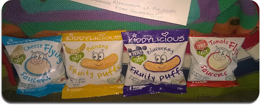 Review: New Gluten-Free baby/toddler snacks from Kiddylicious