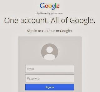 kemudahan akun google