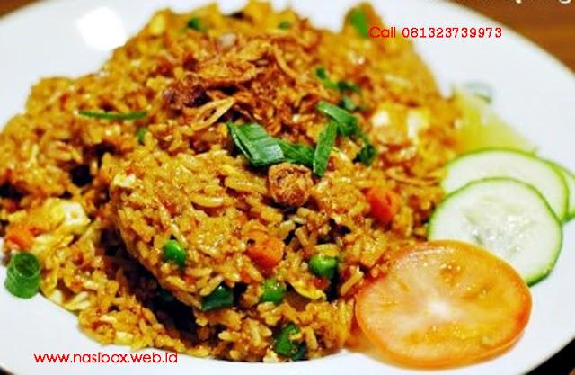 Resep nasi goreng kunyit nasi box cimanggu ciwidey