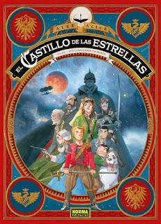 """Cómic: Review de """"El castillo de las Estrellas: Vol.III – Los Caballeros de Marte"""" - Norma Editorial"""