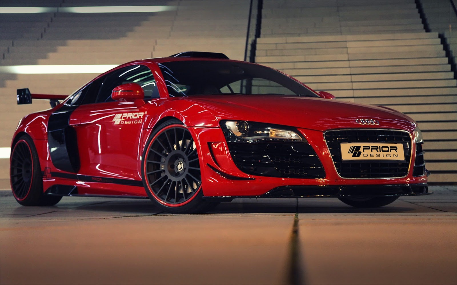 audi r8 pd gt650 body kit by prior style newsautomagz. Black Bedroom Furniture Sets. Home Design Ideas