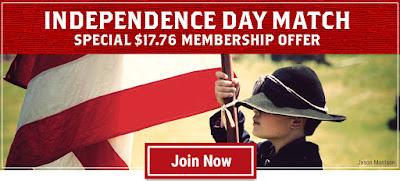 Independence Day Match: Become a Member for $17.76