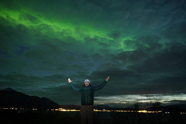 norway Aurora Borealis, norveç Kuzey Işıkları