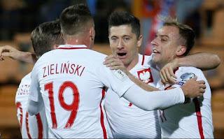 نتيحه مباراه بولندا وليتوانيا اليوم 12-6-2018 انتهت بفوز بولندا 4-0