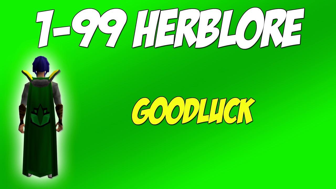 1 99 Herblore Guide Osrs 2017 Calc