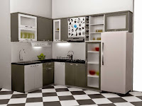4 Model Desain Kitchen Set Minimalis Terlaris