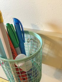 Pen Holder used for Sewing Room Organization