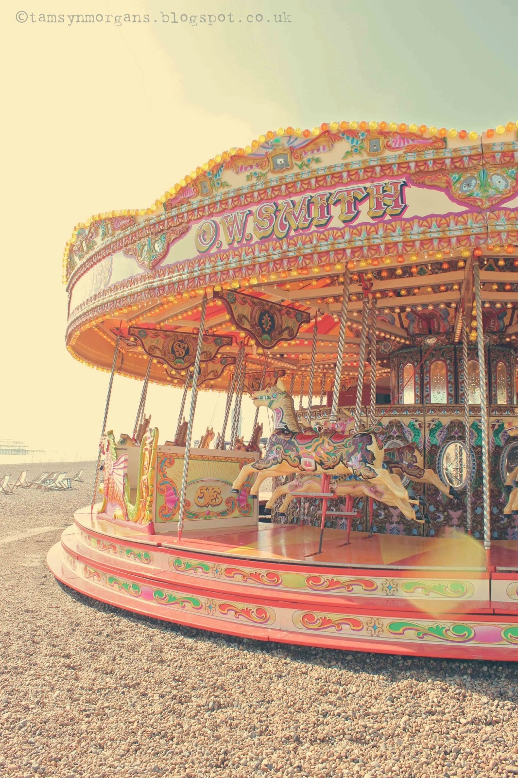 Seaside Funfair at Brighton