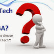 M.Tech or MBA … are you in a dilemma? Then read this …