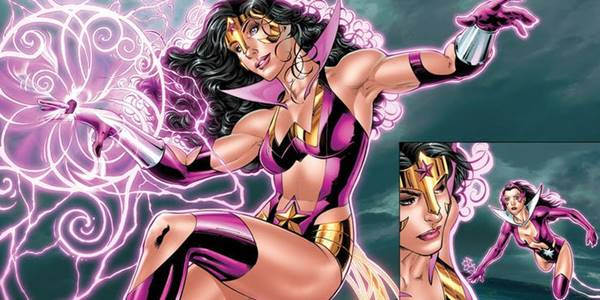 wonder woman as star sapphire
