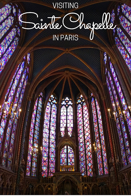 A Travel guide to Sainte Chapelle in Paris