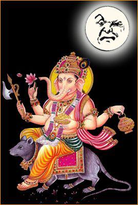 Why Couldn't See Moon on Ganesh Chaturthi Videos