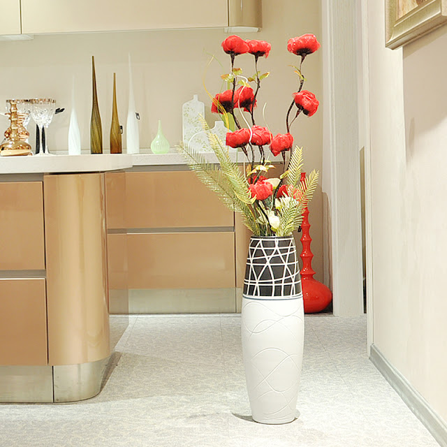 best floor vases with flowers for living room