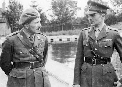 L-R: General Sosabowski and Browning_Operation Market Garden_Battle of Arnhem