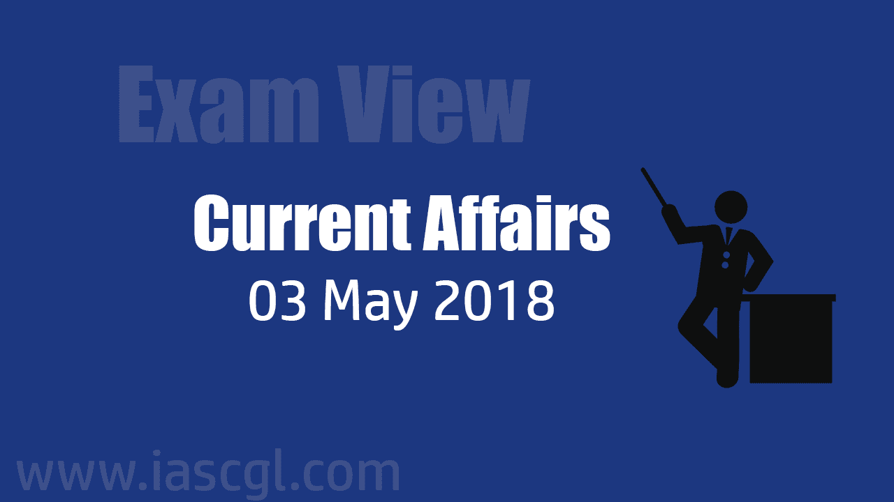 Current Affair 03 May 2018