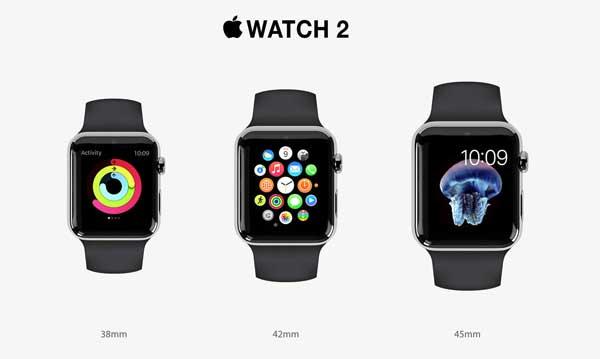 2016 Apple Watch 2 Claim Large Battery until 334mAh