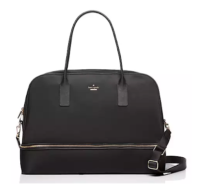 Kate Spade nylon weekender bag - perfect for all upcoming summer travels