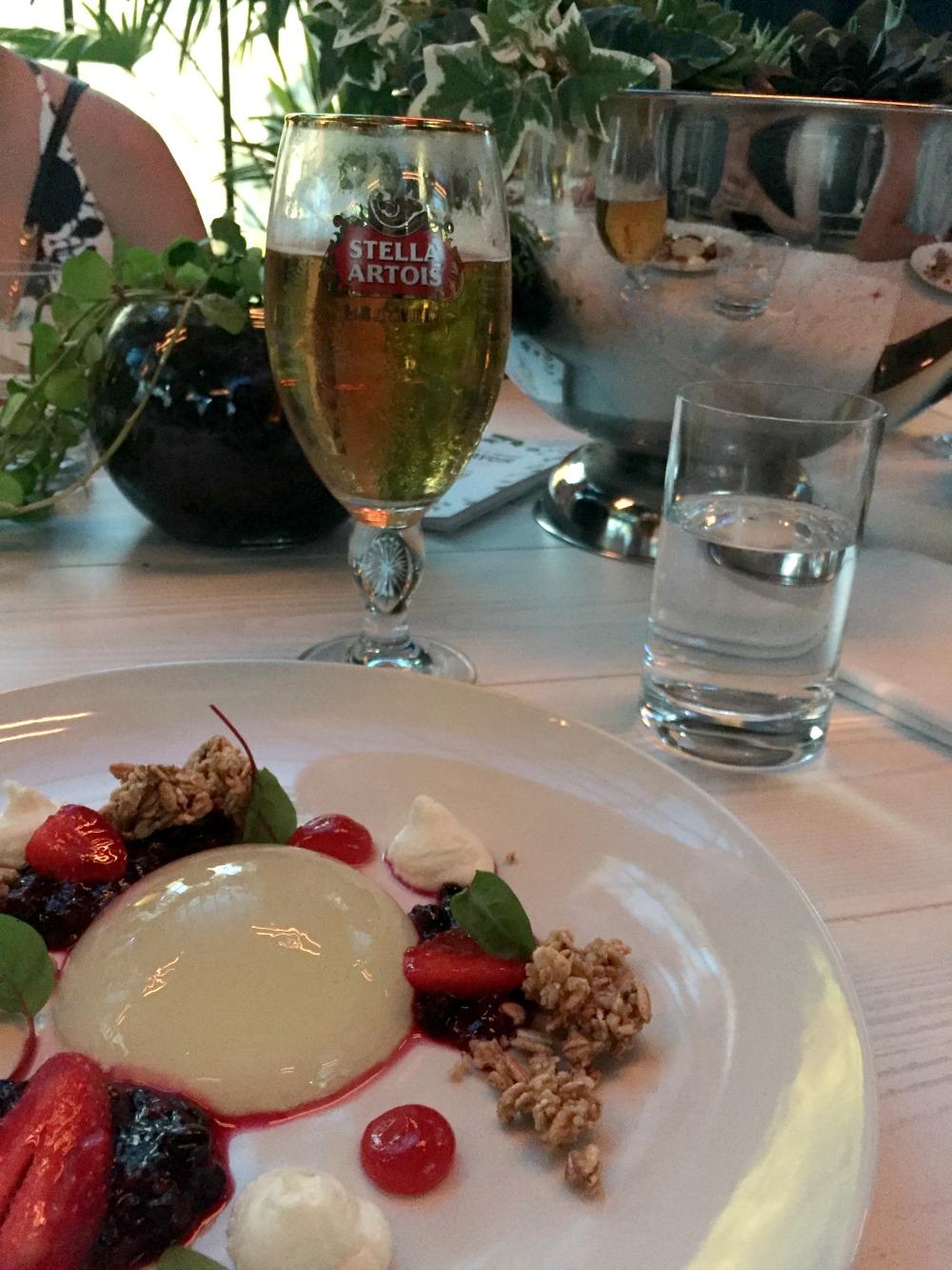 Stella Artois Le Savoir  dessert