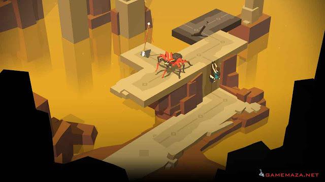Lara Croft Go Gameplay Screenshot 3