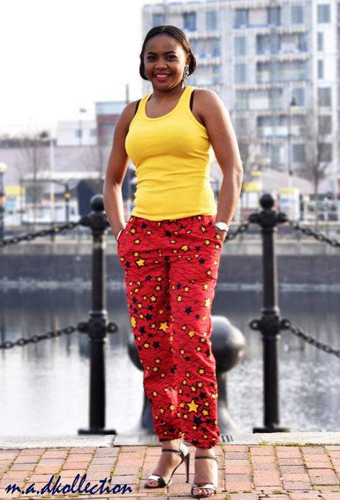 Beautiful-Ankara-Trouser-Blouse=