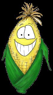 cartoon corn clipart