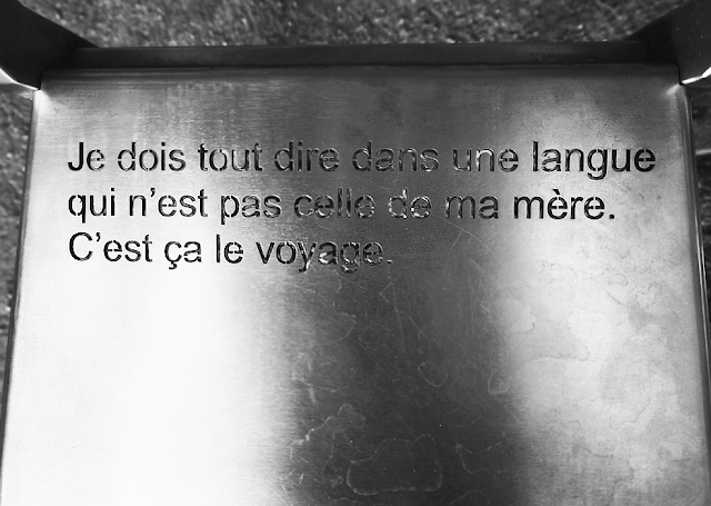 A quote by Dany Lafarrière in Québec, Canada