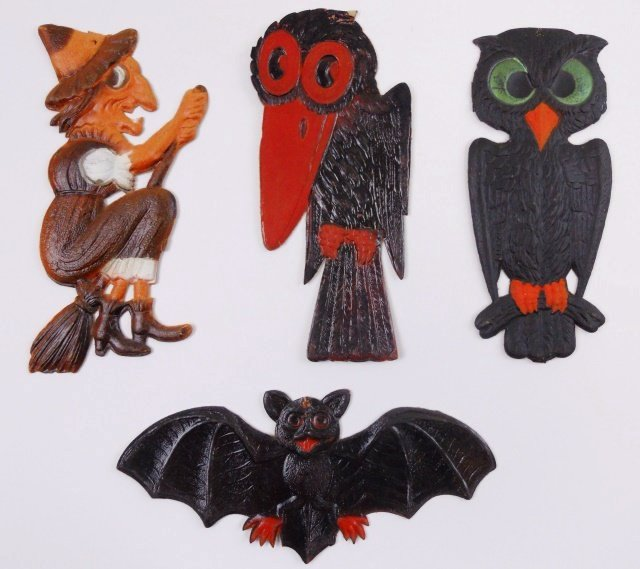 common and uncommon diecuts decorations from holidays past