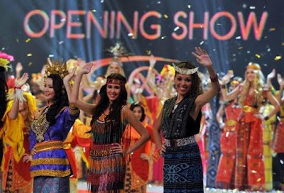 Miss World 2013 opening show in Bali
