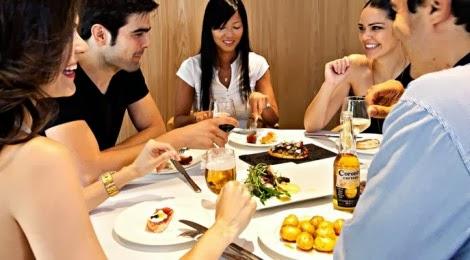 Repas loisir - jeunes commensales