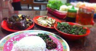 Kuliner Indonesia - Warung Nasi Ibu Imas