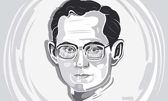 Big Del - Thai King Rama IX Art