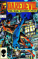 Daredevil v1 #217 marvel comic book cover art by Barry Windsor Smith