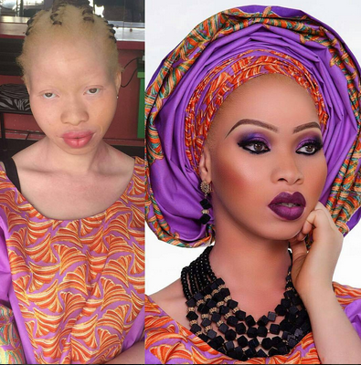 LOL....Do you also think the makeup artiste that did this should to be arrested? (photo)