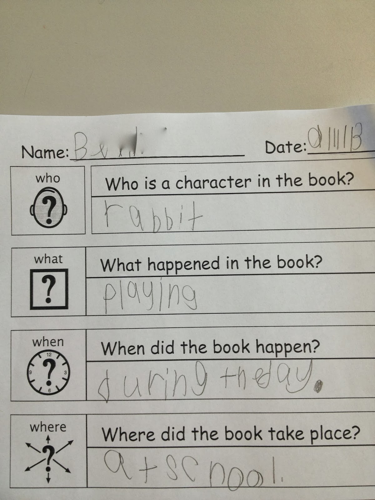autism tank wh questions who and where we also used our visual to answer when and what questions about the story here is a link to this wh worksheet bie