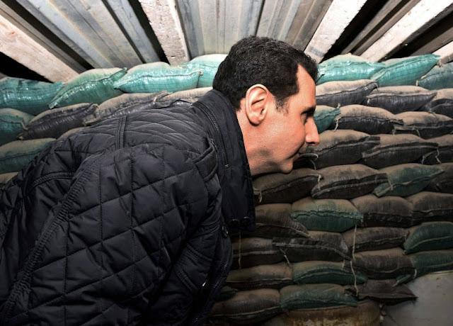 بالفيديو..لحظة محاولة اغتيال بشار الأسد
