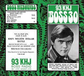 KHJ Boss 30 No. 147 - Brian Hyland
