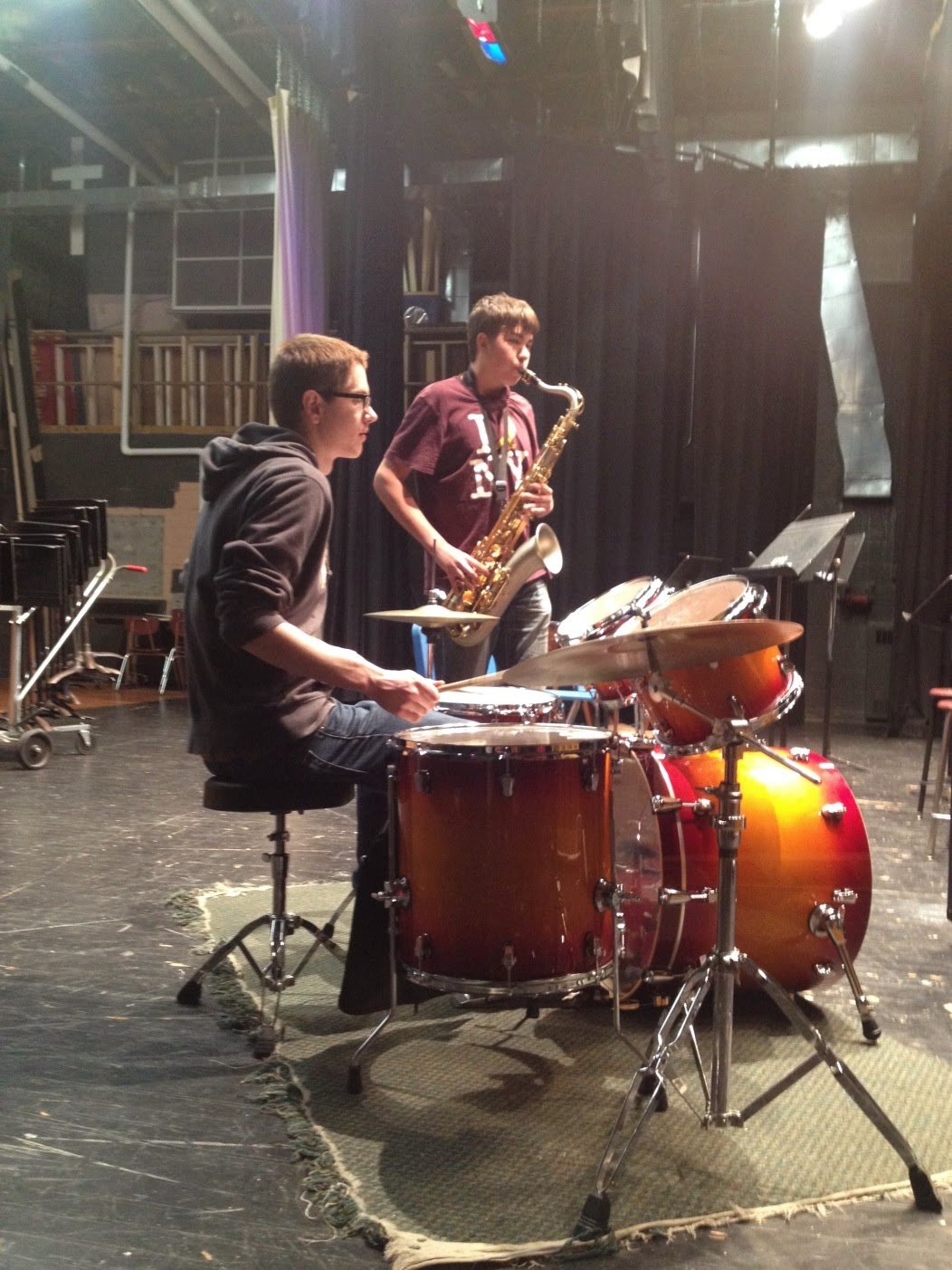 Sparta High School Jazz Band Wins Two New Instruments Sparta Area