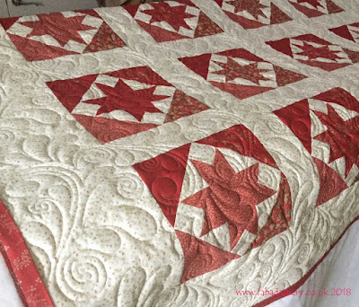 French General Stars Quilt made by Marlene