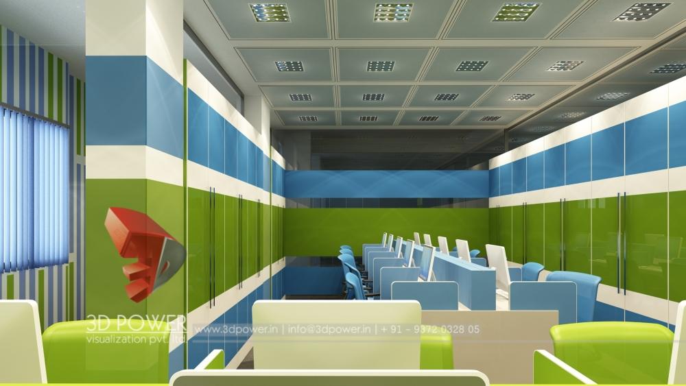 3d interior designs interior designer make your office for Office interior design services