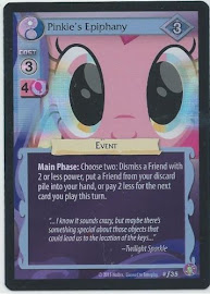 My Little Pony Pinkie's Epiphany Absolute Discord CCG Card