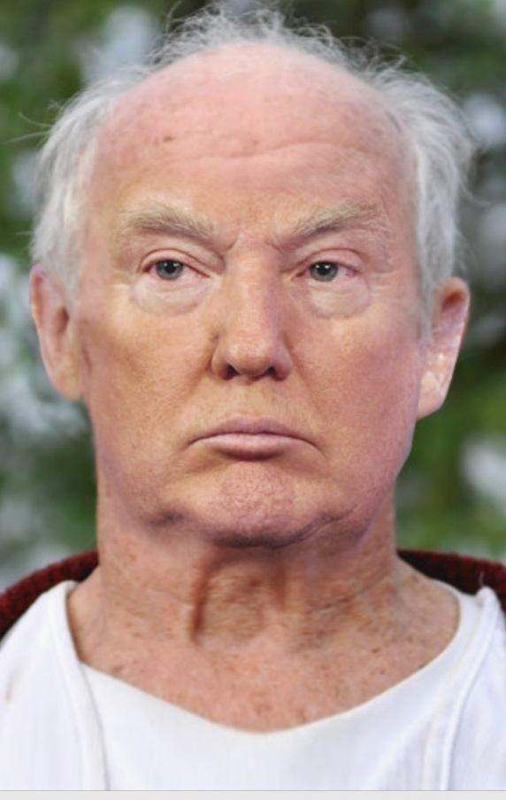 ... GAMBLER™: Donald Trump without his trademark hair and orange tan