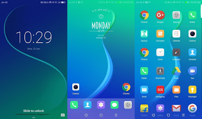 Huawei Themes : Oppo Color Os 3.0 Theme for EMUI 5