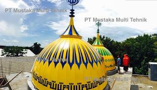 Jasa Pembuatan Kubah Masjid Terbaik Harga Nego