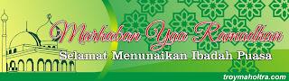 Spanduk Marahaban Yaa Ramadhan